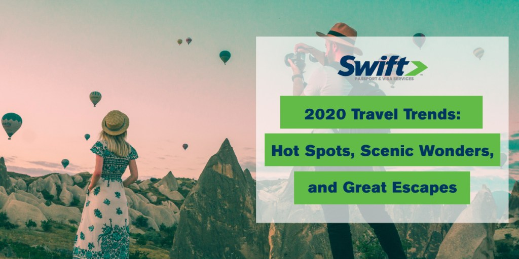 2020 Travel Trends.2020 Vacation Hot Spots And Travel Trends