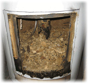 Sediment in water heater which affects energy use