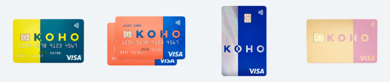 Koho card options