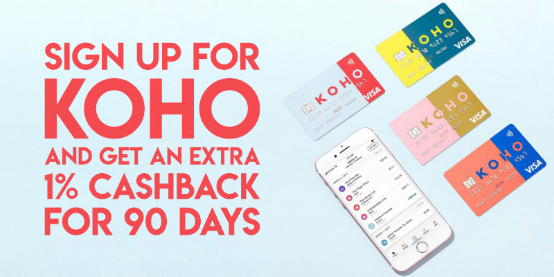 Koho sign up bonus
