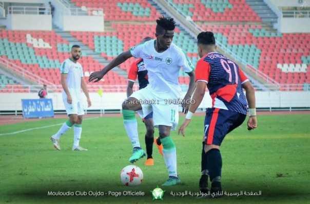 Karisa super strike wins it for MC Oujda in Morocco Botola Pro ...