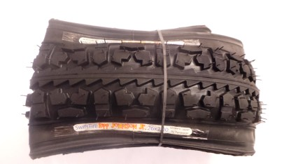 "SwiftTire 26"" x 2.00"" Tire & Tube Combo - Made by Panaracer"