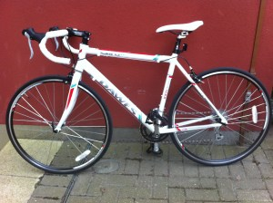 My new bike, a Dawes Giro 300