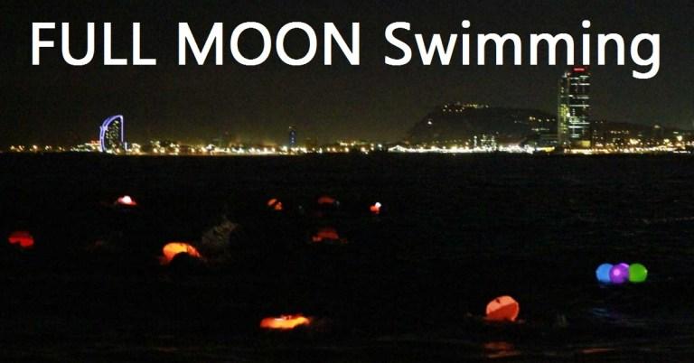 【全球各地的 月圓游泳(Full Moon Swimming)】