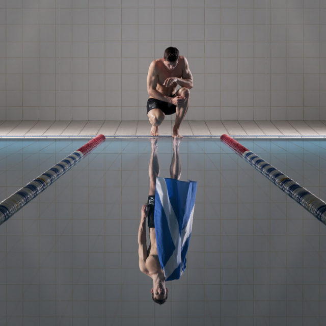 Michael Jamieson reflects ahead of Duel in the Pool_2. Credit Wadey James.