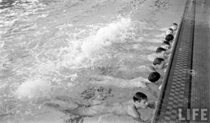 Until Fairly Recently, The YMCA Actually Required Swimmers To Be Nude