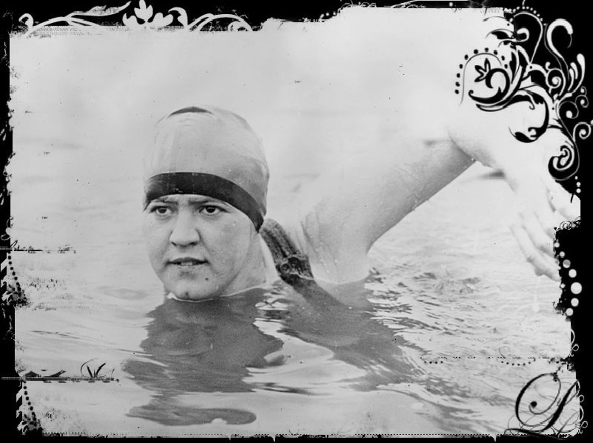 Gertrude Ederle - First Woman to Swim the English Channel