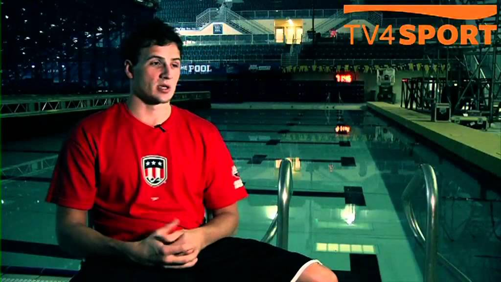 Ryan Lochte - TV4 Sport Sweden