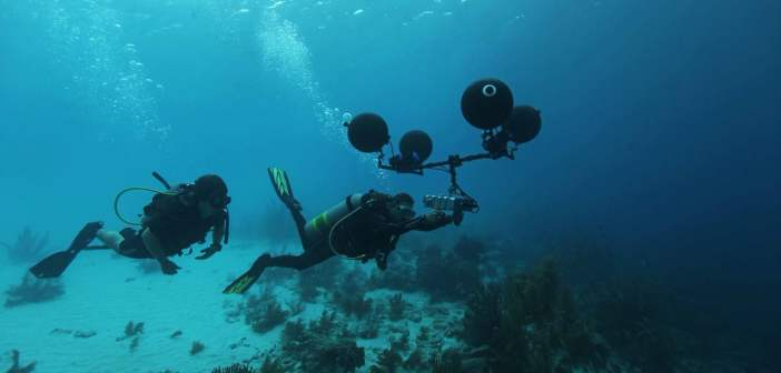 Underwater 5.1 surround sound captured for documentary