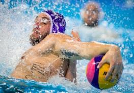 LEN European Water Polo Championships 2016 France FRA (White) Vs Malta MLT (Blue) Men 6 ZAMMIT Matthew MLT Kombank Arena, Belgrade, Serbia Day01 10-01-2016 Photo G.Scala Insidefoto/Deepbluemedia