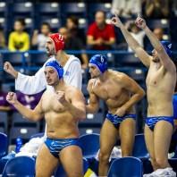 Team GREECE LEN European Water Polo Championships 2016 Men ROU - GRE Roumania (White) Vs Greece (Blue) Kombank Arena, Belgrade, Serbia Day08 17-01-2016 Photo G. Scala/Insidefoto/Deepbluemedia