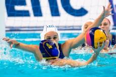 7 DI MARIO Tania ITA LEN European Water Polo Championships 2016 Women ITA - ESP Italy (White) Vs Spain (Blue) Kombank Arena, Belgrade, Serbia Day10 19-01-2016 Photo G. Scala/Insidefoto/Deepbluemedia