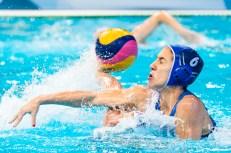 6 AVRAMIDOU Alkisti GRE LEN European Water Polo Championships 2016 Women FRA - GRE France (white) vs Greece (blue) Kombank Arena, Belgrade, Serbia Day12 21-01-2016 Photo G. Scala/Insidefoto/Deepbluemedia