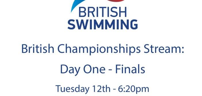 Day 1 Finals – British Swimming Championships 2016