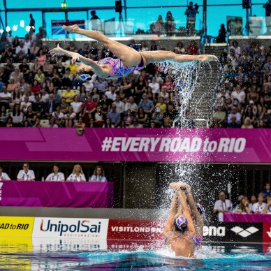 Ukraina UKR London, Queen Elizabeth II Olympic Park Pool LEN 2016 European Aquatics Elite Championships Synchronised swimming synchro Team Free Final Day 05 13-05-2016 Photo Giorgio Scala/Deepbluemedia/Insidefoto
