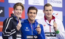 DETTI Gabriele ITA gold medal London, Queen Elizabeth II Olympic Park Pool LEN 2016 European Aquatics Elite Championships Swimming Men's 400m freestyle final Day 08 16-05-2016 Photo Giorgio Perottino/Deepbluemedia/Insidefoto