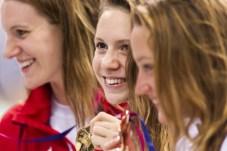 KAPAS Boglarka HUN gold medal London, Queen Elizabeth II Olympic Park Pool LEN 2016 European Aquatics Elite Championships Swimming Women's 400m freestyle final Day 14 22-05-2016 Photo Giorgio Perottino/Deepbluemedia/Insidefoto