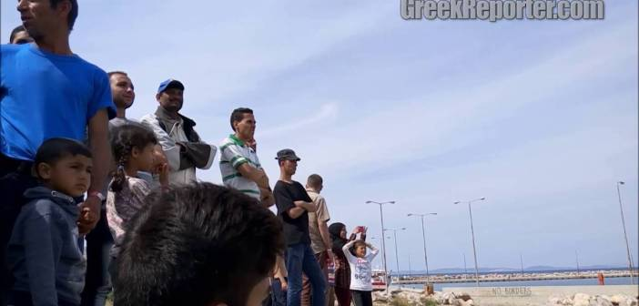 Desperate to Leave Greece Refugees Swim Back to Turkey