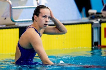 VASKINA Daria RUS 50m Backstroke Women Final Gold Medal LEN 44th European Junior Swimming Championships Netanya, Israel Day03 30-06-2017 Photo Andrea Masini/Deepbluemedia/Insidefoto