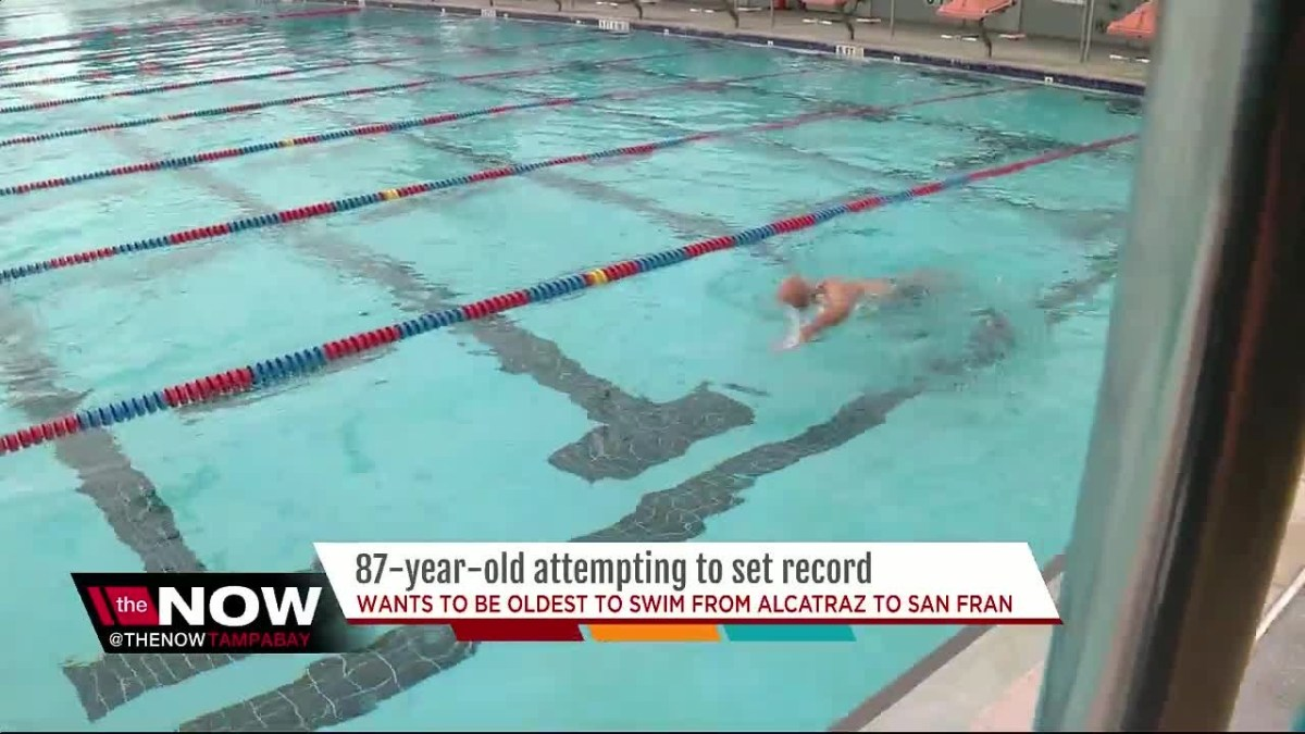 87-year-old St. Pete judge attempting to be oldest to swim from Alcatraz to San Francisco