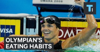 A 12-time Olympic medalist reveals her eating habits during training