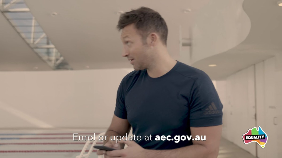 Ian Thorpe and boyfriend urge Australians to support same-sex marriage