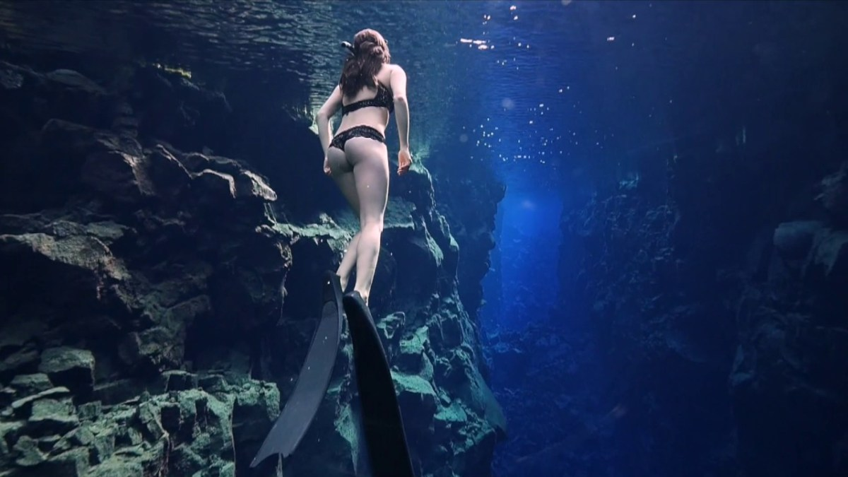 Meet Icelandic Freediver Kiki Bosch, the Toughest Woman on the Planet