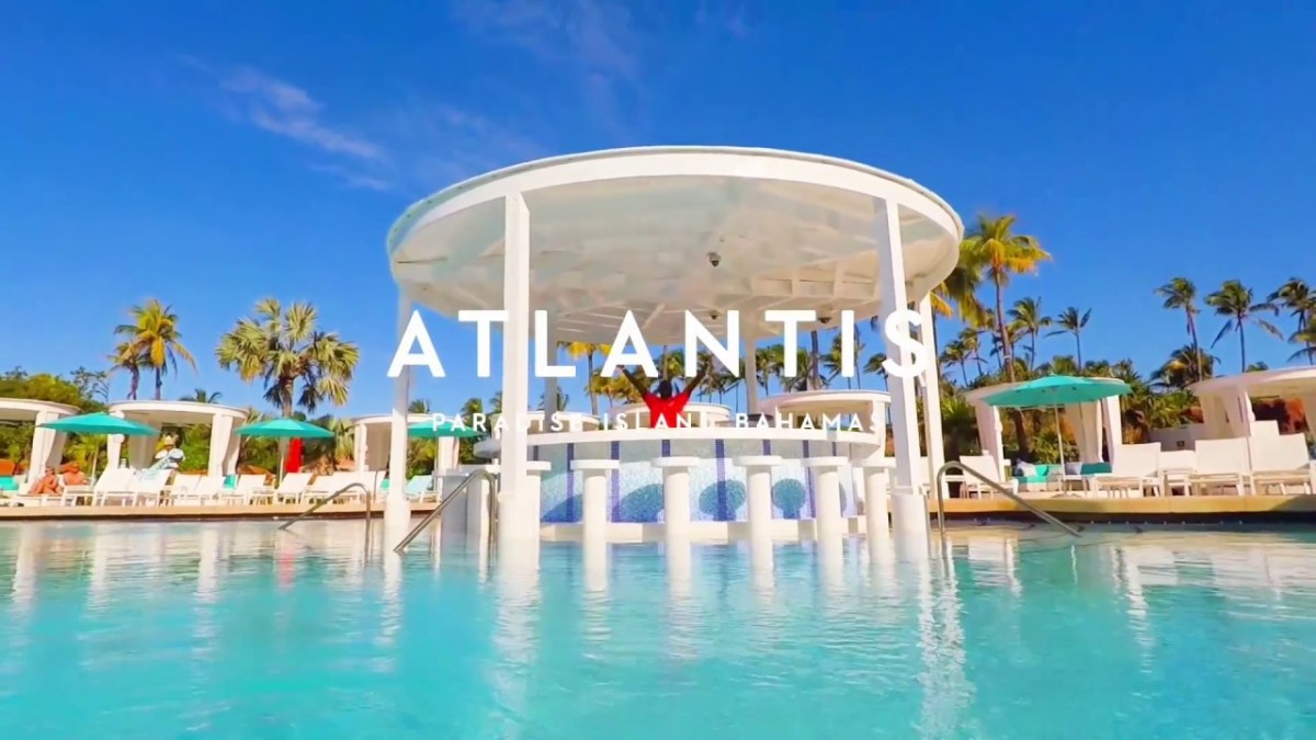 Swim Up to the New Coral Pool | Atlantis Bahamas