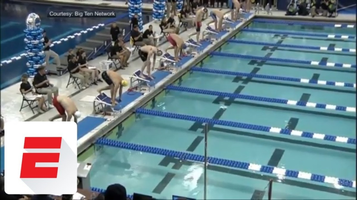Caeleb Dressel makes history with record 17.63 swim in 50 free at NCAA championships