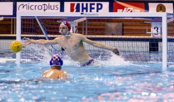1 BIJAC CRO FRA - CRO France (white cap) Vs. Croatia (blue cap) LEN Europa Cup Men 2018 finals Water Polo, Pallanuoto Rijeka, CRO Croatia Day01 Photo © Giorgio Scala/Deepbluemedia/Insidefoto