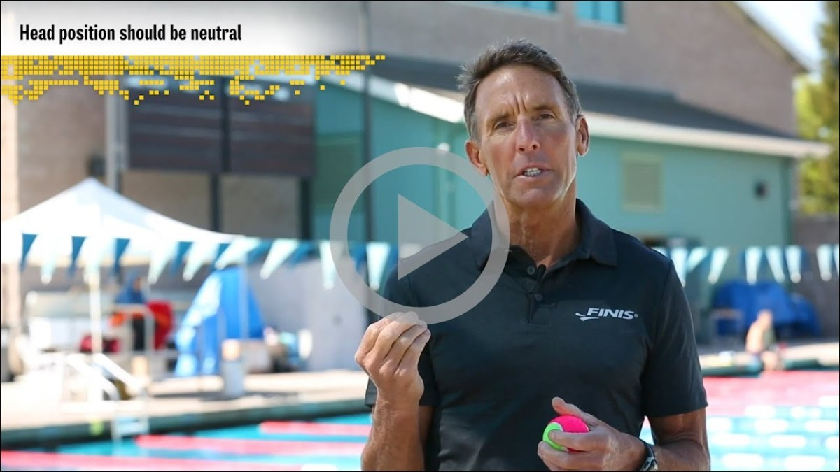 Progressive Swim Skills Presented By Finis: Proper Head Position