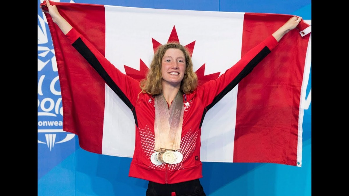Taylor Ruck's Path to High-Reaching Swimming Success means Staying Grounded