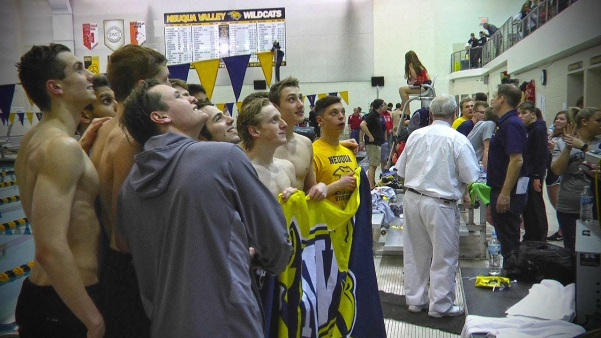 Neuqua Valley Boys Swimming Sectional