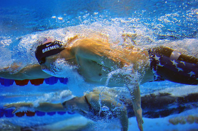 The Heart of a Swimmer vs. the Heart of a Runner