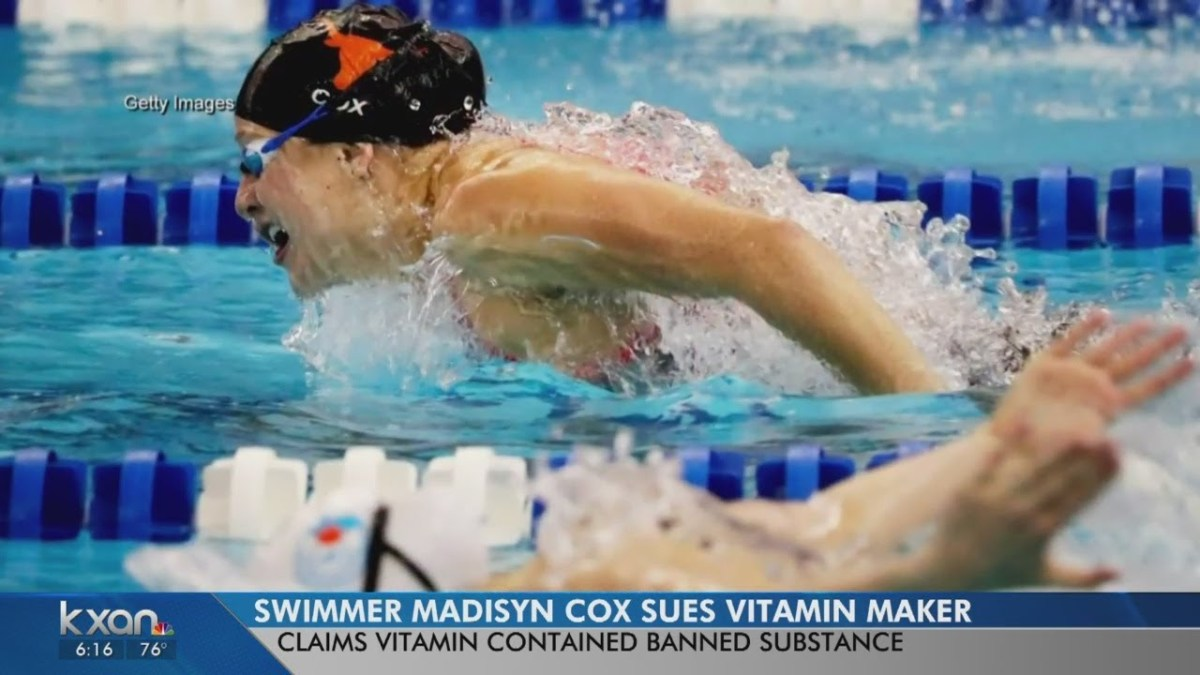 Madisyn Cox suing vitamin company after suspension