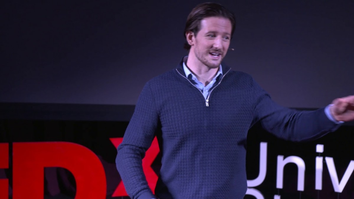 Emotional Fitness: Reflection of an Olympic Swimmer | Michael Jamieson | TEDxUniversityofStrathclyde