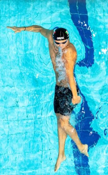 CECCON Thomas ITA 50 backstroke men LEN European Swimming Junior Championships 2019 Aquatic Palace Kazan Day 4 06/07/2019 Photo G.Scala/Deepbluemedia/Insidefoto