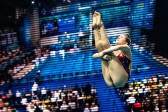 TORRANCE KATHERINE GBR Great Britain Mixed - Team Event - Final Kyiv, Ukraine UKR 05/08/2019 Diving Len European Diving Championships 2019 Sport Arena Liko Kyiv, Ukraine Photo © Giorgio Scala / Deepbluemedia / Insidefoto