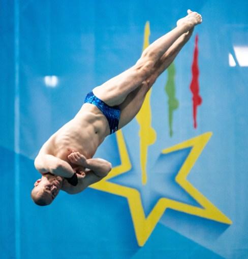 KUZNETSOV EVGENII RUS Russia Men - 3m Springboard - Final - Final Kyiv, Ukraine UKR 09/08/2019 Diving Len European Diving Championships 2019 Sport Arena Liko Kyiv, Ukraine Photo © Giorgio Scala / Deepbluemedia / Insidefoto