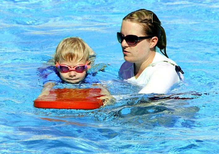 swimming lesson photo