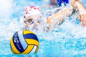 Official Ball KapSeven Budapest 13/01/2020 Duna Arena Croatia (white caps) Vs. Greece (blue caps) XXXIV LEN European Water Polo Championships 2020 Photo ©Giorgio Scala / Deepbluemedia / Insidefoto