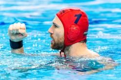 1 HUN NAGY Viktor Hungary Budapest 18/01/2020 Duna Arena Malta (white caps) Vs.Hungary (blue caps) Men XXXIV LEN European Water Polo Championships 2020 Photo ©Giorgio Scala / Deepbluemedia / Insidefoto