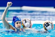 7 ISR STRUGO Shunit Israel Budapest 19/01/2020 Duna Arena Germany (white caps) Vs. Israel (blue caps) Women XXXIV LEN European Water Polo Championships 2020 Photo ©Giorgio Scala / Deepbluemedia / Insidefoto