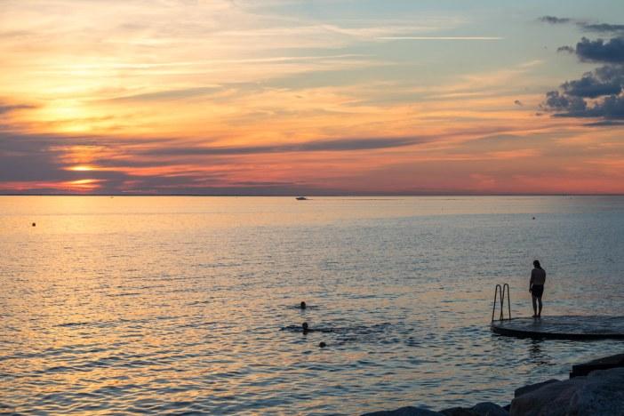 ocean swimmer photo