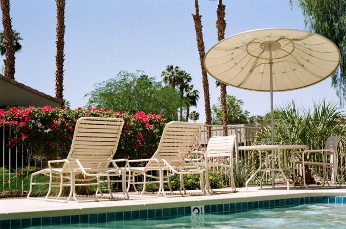 backyard swimming pool photo