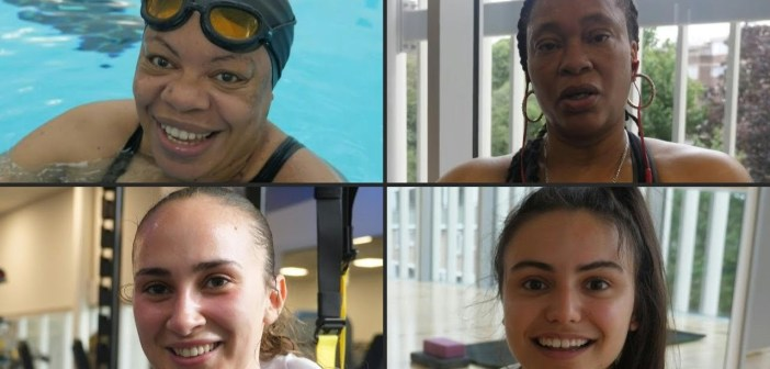 'Happy to be back': Londoners return to gyms and indoor swimming pools | AFP