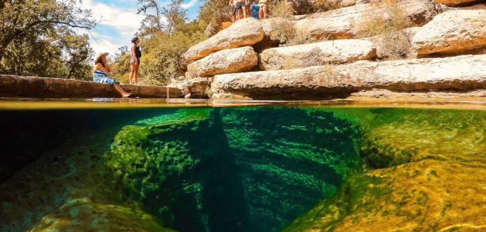 Jacob's Well Swimming Hole in Texas | MicBergsma