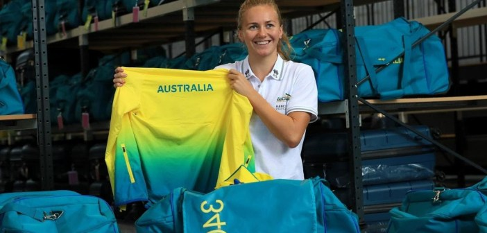 Swimmer Ariarne Titmus speaks about her world beating efforts in the pool