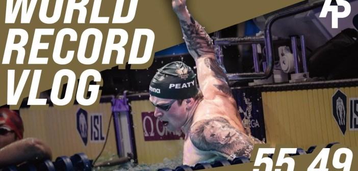 Breaking The 100 Breaststroke World Record At ISL *55.49* | Adam Peaty Vlogs