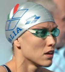 Cristina Chiuso 4 OLIMPIADI LA NUOTATRICE ITALIANA PIU' LONGEVA ANCORA OGGI PRIMATISTA ITALIANA DEI 50 STILE LIBERO